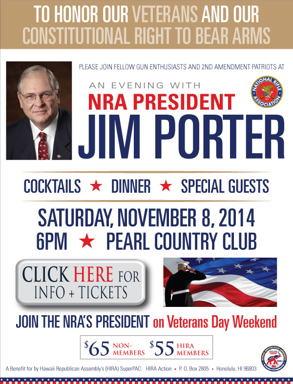 NRA's Jim Porter Tickets + Info