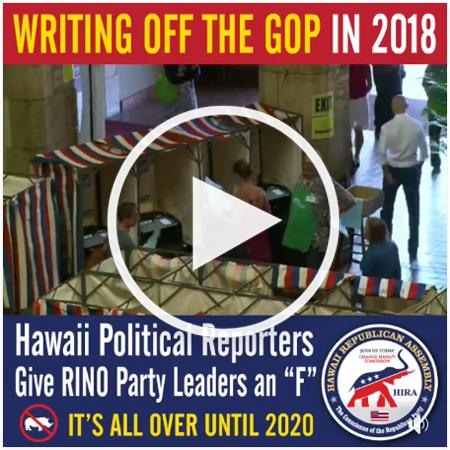 Hawaii Republican Tupola's Fake Stalking and Perjurious TROs