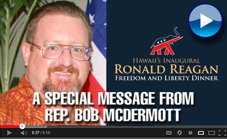 A Special Message from Rep. Bob McDermott