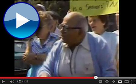 Rostenkowski Running from Senior Citizens