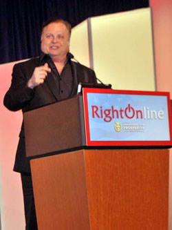 Rusty Humphries at RightOnline
