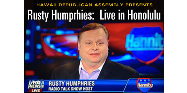 HIRA presents Rusty Humphries