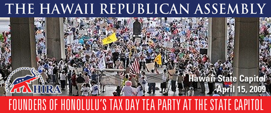 HIRA Founds Tax Day Tea Party