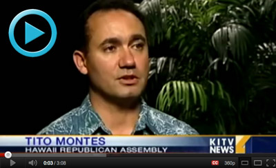 Tito Montes of HIRA on KITV